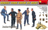 MiniArt 35246 1/35 Soviet Tank Crew at Rest