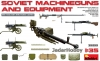 MiniArt 35255 1/35 Soviet Machine Guns and Equipment