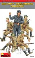 MiniArt 35281 1/35 Soviet Soldiers Riders. Special Edition