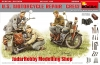 MiniArt 35284 1/35 U.S. Motorcycle Repair Crew. Special Edition