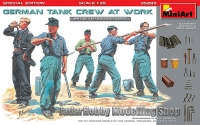 MiniArt 35285 1/35 German Tank Crew at Work. Special Edition