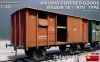 "MiniArt 35288 1/35 Railway Covered Goods Wagon 18 t ""NTV""-Type"