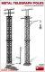 MiniArt 35529 Metal Telegraph Poles (1:35)