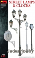 MiniArt 35560 1/35 Street lamps & Clocks