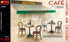 MiniArt 35569 1/35 Cafe Furniture & Crockery