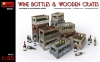 MiniArt 35571# 1/35 Wine Bottles & Wooden Crates