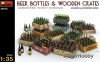 MiniArt 35574 1/35 Beer Bottles & Wooden Crates