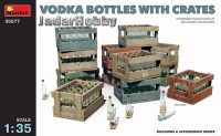 MiniArt 35577 1/35 Vodka Bottles with Crates