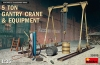 MiniArt 35589 1/35 5 Ton Gantry Crane & Equipment