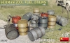 MiniArt 35597 1/35 German 200L Fuel Drum Set WW2