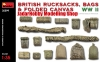 MiniArt 35599 1/35 British Rucksacks, Bags & Folded Canvas WW2