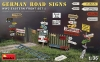 MiniArt 35602 1/35 German Road Signs WW2 (Eastern Front Set 1)