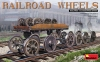 MiniArt 35607# 1/35 Railroad Wheels