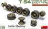 MiniArt 37054 1/35 T-54 Wheels Set. Early Type