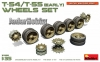 MiniArt 37056 1/35 T-54/T-55 (early) Wheels Set