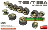 MiniArt 37058 1/35 T-55/T-55A Wheels Set