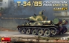 MiniArt 37069# 1/35 T-34/85 Czechoslovak Prod. Early Type. INTERIOR KIT