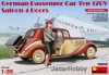 MiniArt 38008# 1/35 German Passenger Car Type 170V Saloon 4 Doors