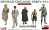 MiniArt 38015 1/35 German Civilians 1930's 1940's