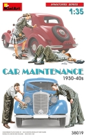 MiniArt 38019 1/35 Car Maintenance 1930-40s