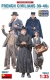 MiniArt 38037 1/35 French Civilians '30-'40s. Resin Heads