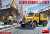 MiniArt 38051 1/35 L1500S German 1,5t Truck