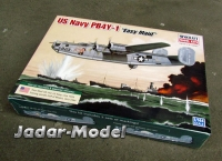 "Minicraft 14664 Consolidated PB-4Y-1 Liberator ""Easy Maid"" 1:144"
