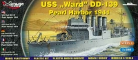 1:400 Mirage 40601 - USS Ward DD-139 Pearl Harbor 1941