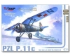 Mirage 481001 - PZL P.11c - Polish WWII fighter (1/48)
