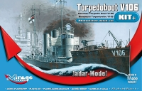 Mirage 900001 1/400 Torpedoboot V106, WW1 German Torpedo Boat (KIT+ Series)