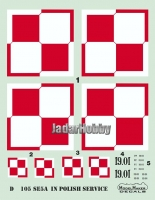 ModelMaker Decals D48105 1/48 SE-5a in Polish service