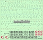 ModelMaker Decals D72108 1/72 Su-22 in Polish service part 3 gray scheme