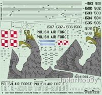 ModelMaker Decals D72111 1/72 C-130 Hercules in Polish service