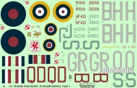 ModelMaker Decals D48131 1/48 Vickers Wellington in Polish service part I