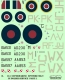 ModelMaker Decals D72134 1/72 Supermarine Spitfire Mk V in Polish service part II