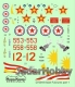 ModelMaker Decals D72044a 1/72 Asian Fulcrums part 1 Malaysia, Kazakhstan, North Korea