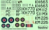 ModelMaker Decals D48102 1/48 303 Squadron North Ameriacan Mustangs