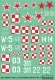 ModelMaker Decals D48050 1/48 Jak-1/7/9 in Polish service vol.2