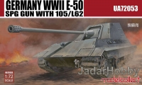 ModelCollect UA72053 1/72 Germany WWII E-50 SPG GUN with 105/L62