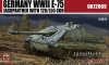 ModelCollect UA72069 1/72 Germany WWII E-75 STUG with 128/L55 gun