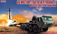 ModelCollect UA72077 1/72 USA M983 HEMTT Tractor with Pershing Ⅱ Missile Erector Launcher