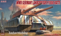 "ModelCollect UA72088 1/72 WWII German Landcruiser P.1000 ""Ratte"""