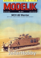 Modelik 1103 1/25 MCV-80 WARRIOR