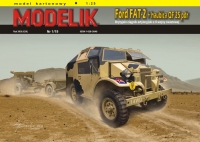 Modelik 1901 1/25 Ford FAT-2 + QF 25pdr