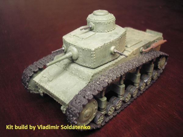 Modelkrak Mkt-7245 - T-12 Soviet Medium Tank