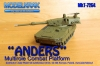 Modelkrak MkT-7254 Polish light tank ANDERS (1/72)