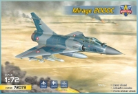 Modelsvit 72073 1/72 Mirage 2000C multirole jet fighter   (5 camos)