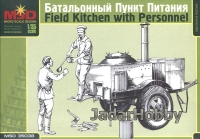 MSD 35038 1/35 Russian Field Kitchen with Personnel