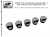 SG-Modelling F72123 1/72 MK-4 periscopes for tanks USSR, closed, 5 pcs