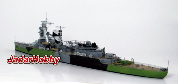 Niko Model 7082 Dutch Light Cruiser De Ruyter 1942 (1/700)
